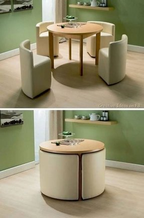 Small dining set for 4 5