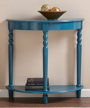 Half Round Entry Table Foter