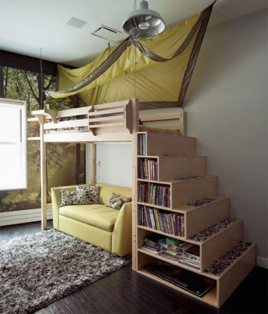 Staircase Loft Bed 7