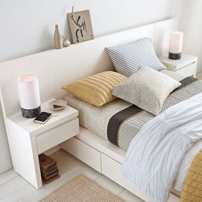 Storage Bed Headboard 1
