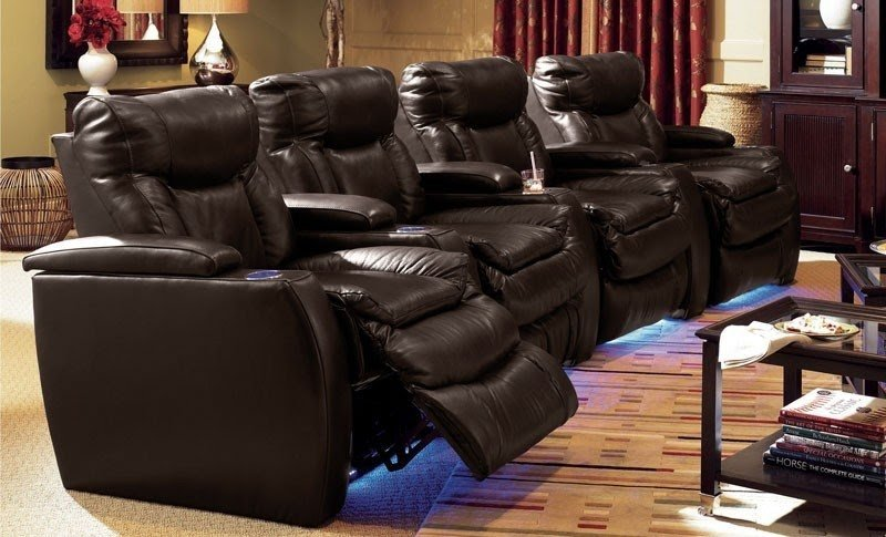 Theater Sectional Reclining Sofa 5