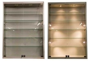 me cabinet slidg stless cludes display udina wall andikan glass