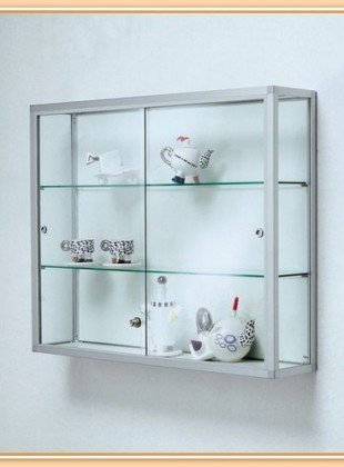 Charmant Wall Mounted Display Cabinets With Glass Doors