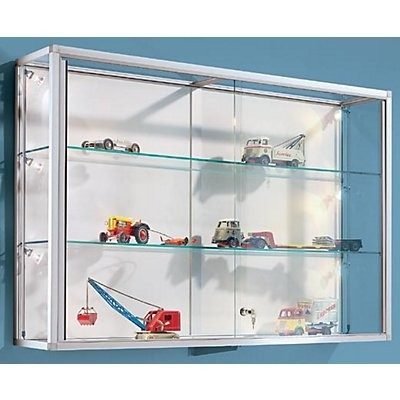 Wall Mounted Glass Cabinet 1