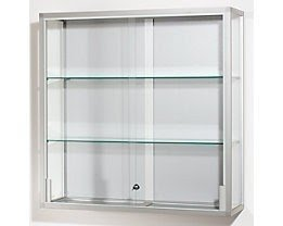 Wall Mounted Glass Cabinet