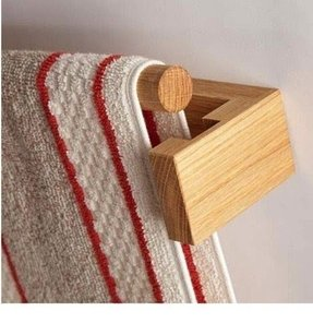 Wooden towel bars 11