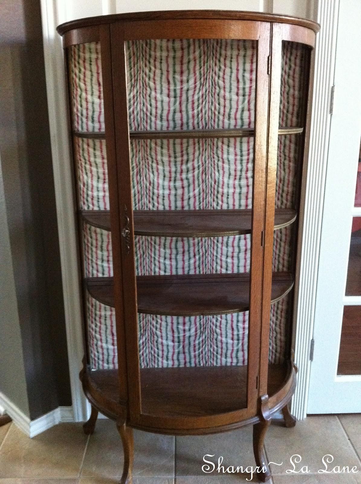 Antique Curio Cabinet 2