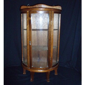 Antique Gl Curio Cabinet