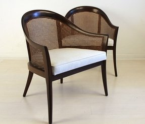 Cane Armchairs - Foter
