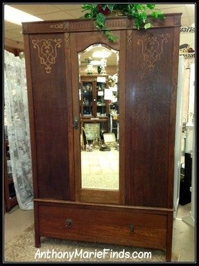Oak Wardrobe Armoire Foter
