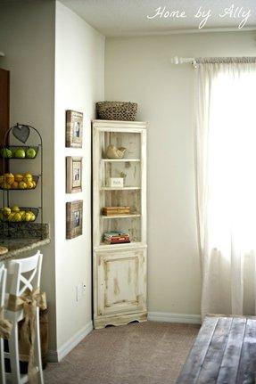 Black Corner Cabinet 6