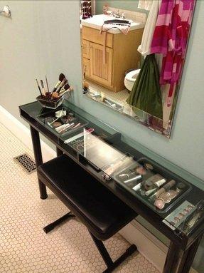black makeup vanity with drawers. Black Makeup Vanity Makeup Vanity  Foter