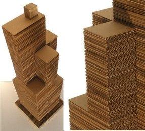 Cardboard Cat Furniture House Tower Castle Ideas On Foter