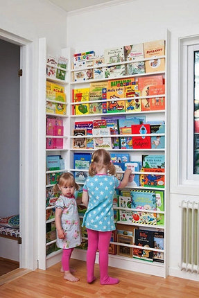 Childrens Wall Mounted Bookshelves