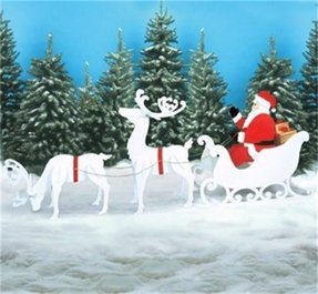 christmas sleighs for sale - Decorative Christmas Sleigh Sale