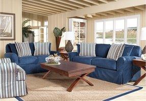Denim Living Room Furniture - Ideas on Foter