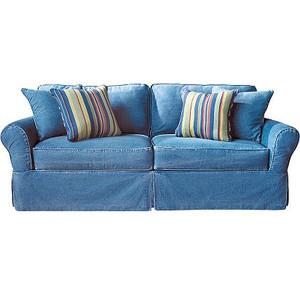 denim living room furniture ideas on foter rh foter com blue denim sofa slipcover blue denim sofa rooms to go