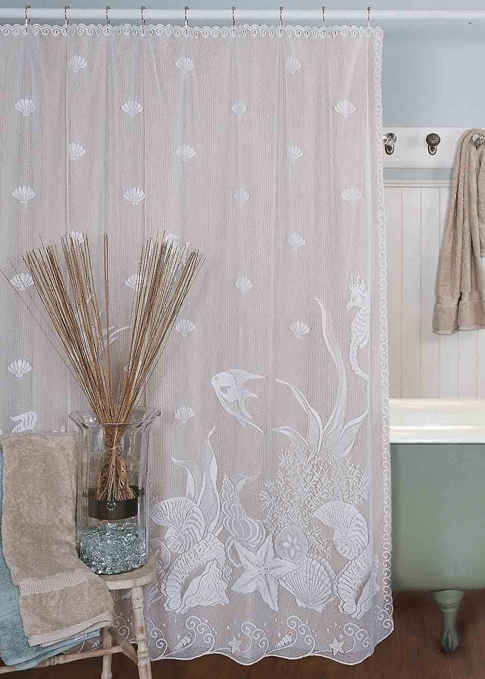 Genial Coastal Shower Curtains