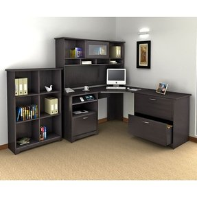 Corner Computer Desk With Hutch For Home Foter