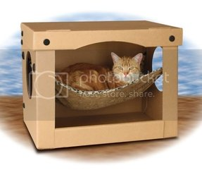 Cardboard Cat Furniture House Tower Castle Ideas On Foter