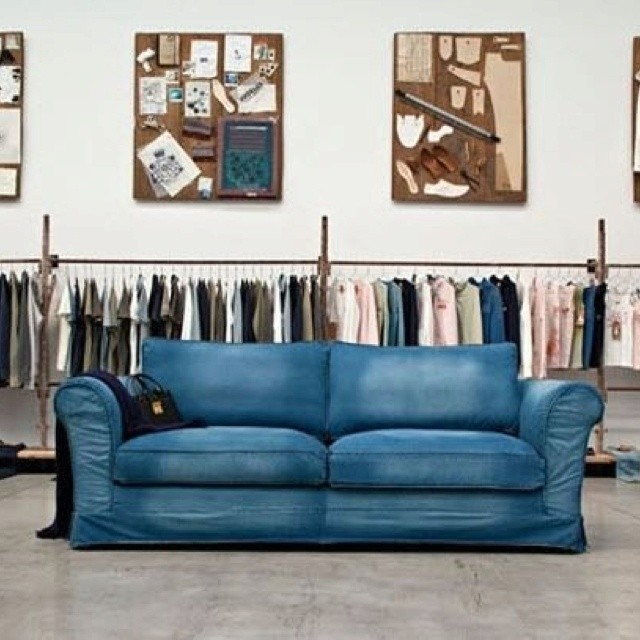 Ordinaire Denim Living Room Furniture 2