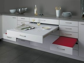 Kitchen Tables With Drawers Dining table with drawers foter dining table with drawers 1 workwithnaturefo
