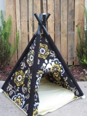 Dog teepee tent & Pet Tent Bed - Foter