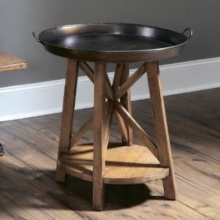 This Tray Top End Table Enchants With Its Tiny Size, Concealing A Pretty  Impressive Functionality. Its Curved Silhouette Conceals A Handy Drawer  Along With ...