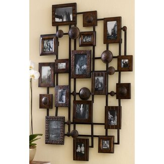 Extra Large Metal Multi Photo Collage Frame