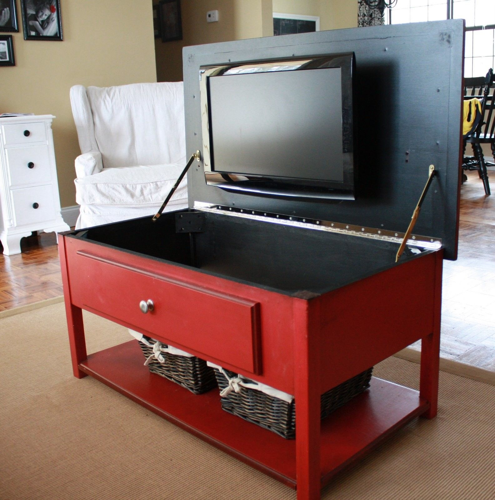 Flip Up Coffee Table Foter