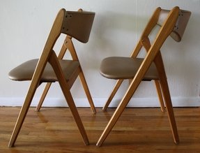 Folding chairs design