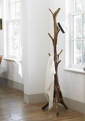 Freestanding Wooden Coat Rack