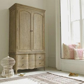 French country armoire wardrobe