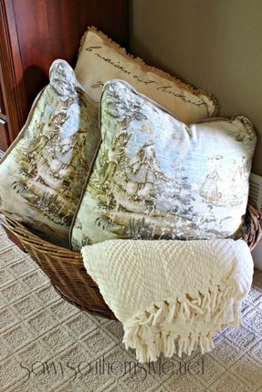 Toile Throw Pillows Foter Best French Country Decorative Pillows