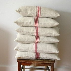 French linen pillows 1