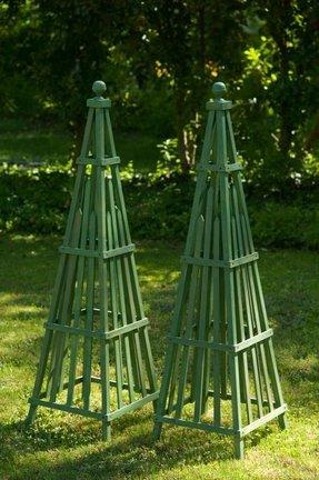Garden Obelisk Trellis Ideas On Foter