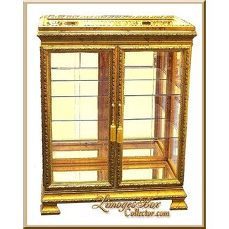 Gold Curio Cabinets Ideas On Foter