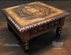 Hacienda old world coffee tables 1