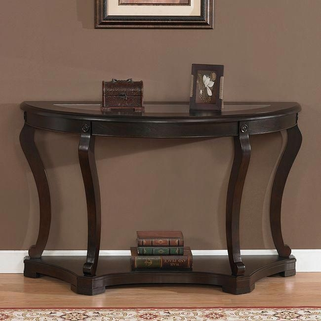 Ordinaire Half Round Sofa Table 7
