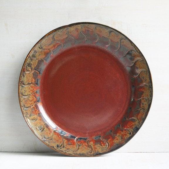 Handmade pottery dinnerware sets & Rustic Stoneware Dinnerware - Foter