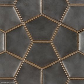Hexagon tile backsplash 23