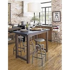 high kitchen table with stools - foter