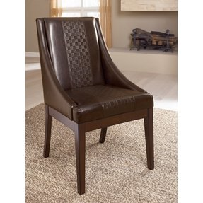 Home Dining Room Arm Chair Holloway Upholstered
