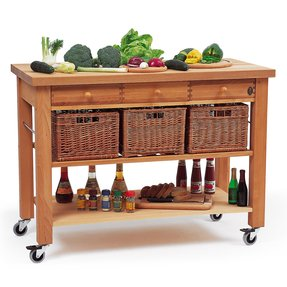 Kitchen carts with drawers 2