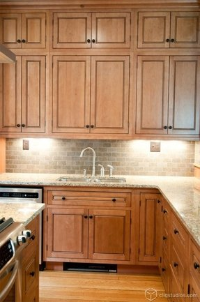 Maple Cabinets - Foter on Natural Maple Cabinets With Black Granite Countertops  id=71788