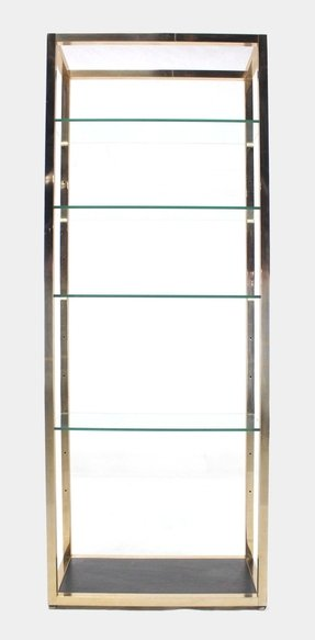 glass west elm hinged products c bookshelf