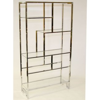 Metal over the toilet etagere