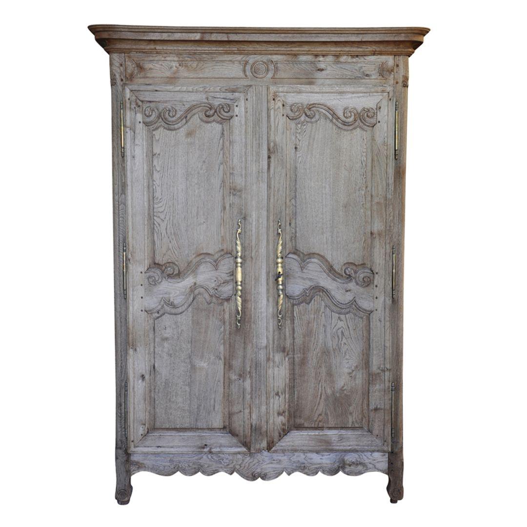 Oak Armoire Dresser