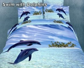 Ocean themed bed sheets