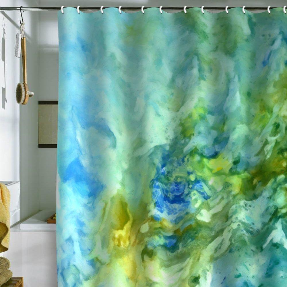 Ocean Themed Shower Curtain